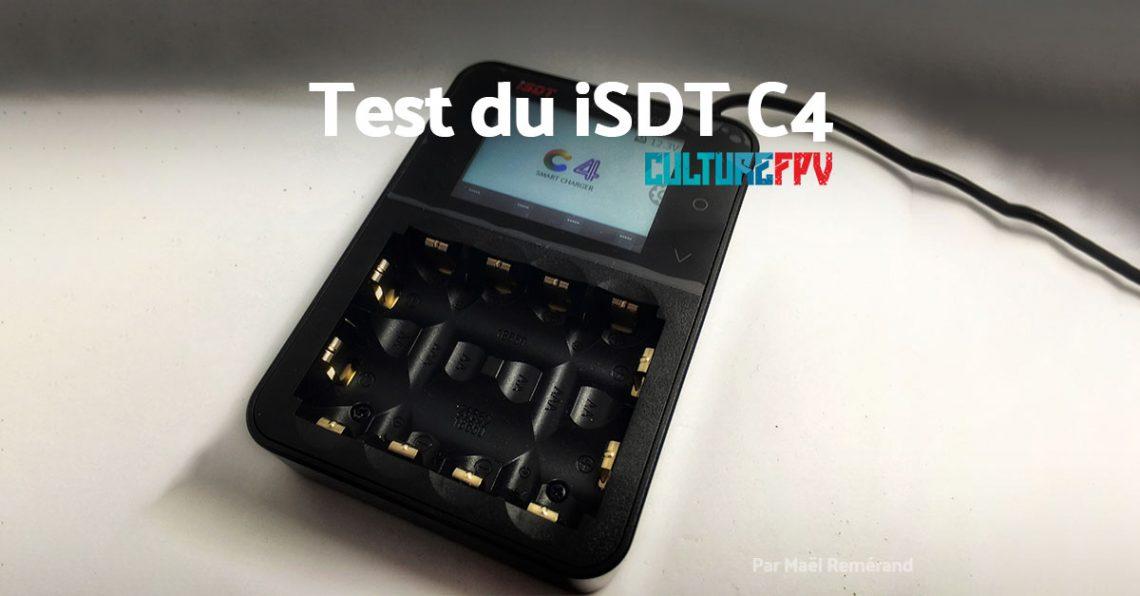 iSDT C4 – Le chargeur de Li-Ion, AA et AAA par iSDT