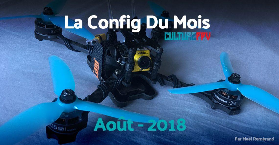 Config du mois d'août 2018 | Drone Enduro