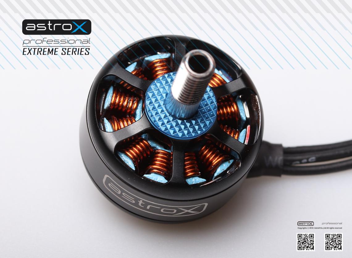 Extream Motor EX07 d'AstroX – Apres les frames, des moteurs ?