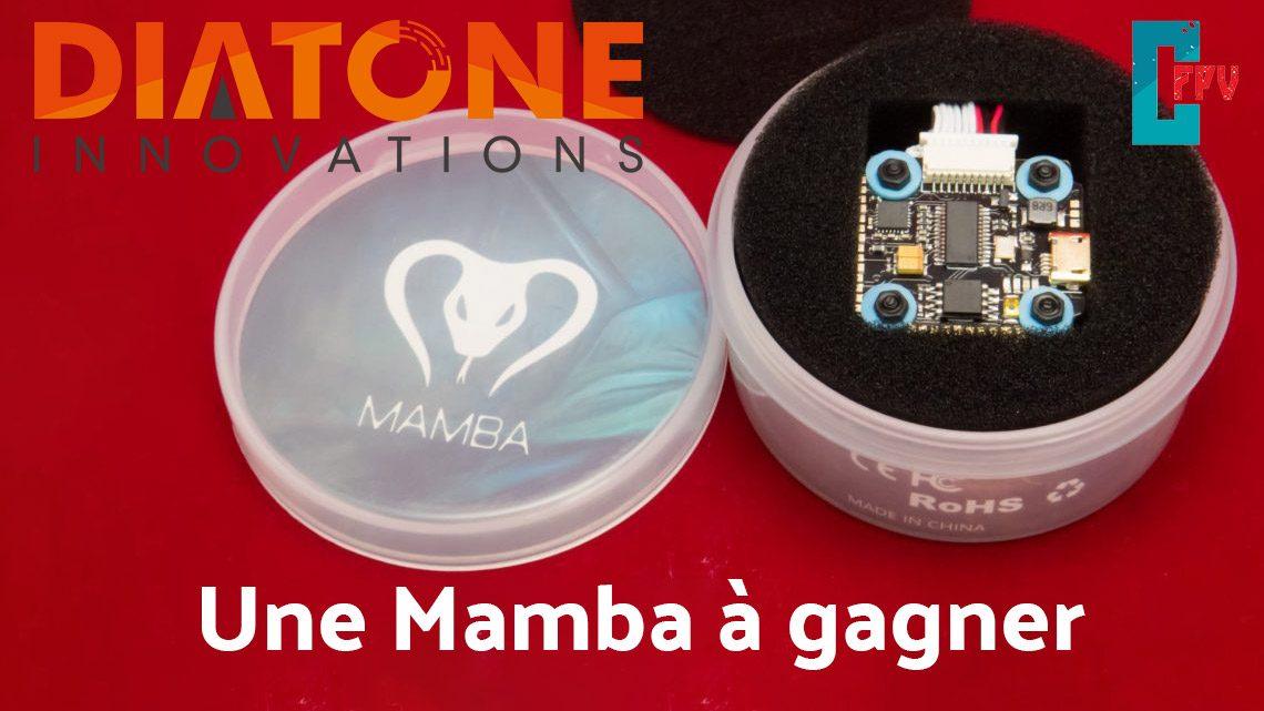 Concours, gagnez une Diatone Mamba 20 X 20 et des goodies