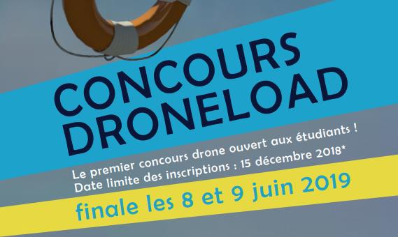 Concours DroneLoad – à vos drones, voler, sauvez !