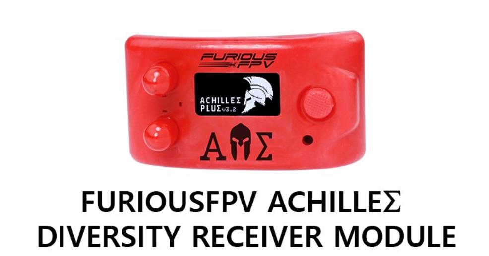 Un nouveau VRX chez FuriousFPV – Le FuriousFPV Achilles