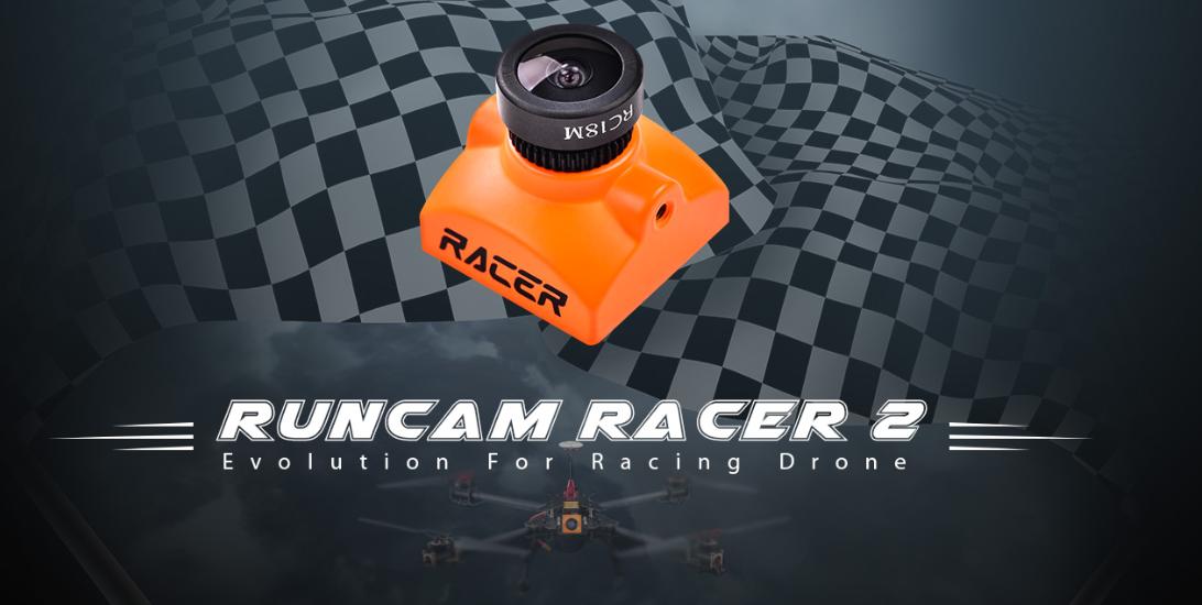 Runcam Racer 2 – Encore une latence plus basse ?