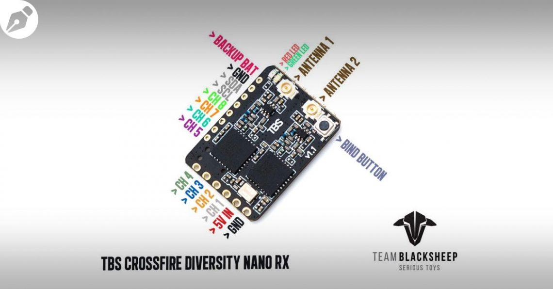 Le TBS Crossfire Diversity Nano RX est là