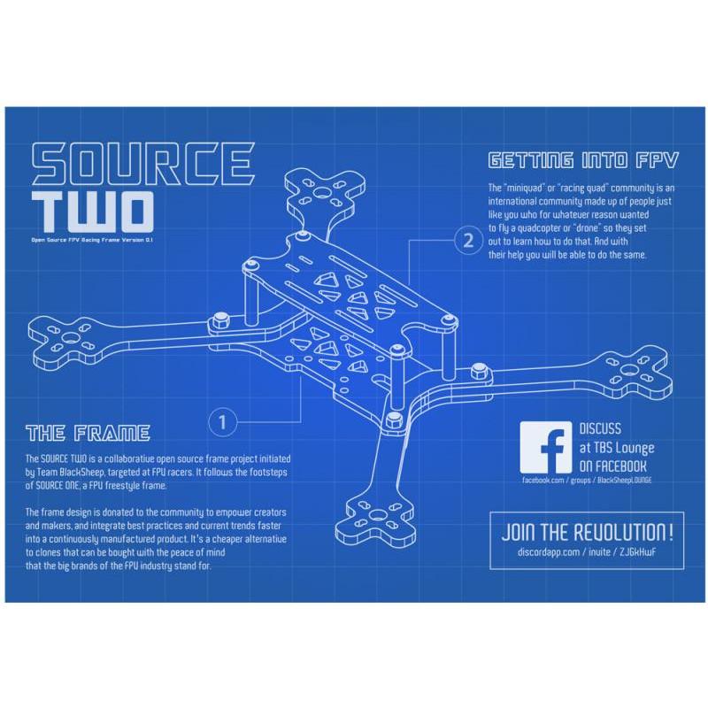 TBS Source TWO – Un nouveau chassis Open Source