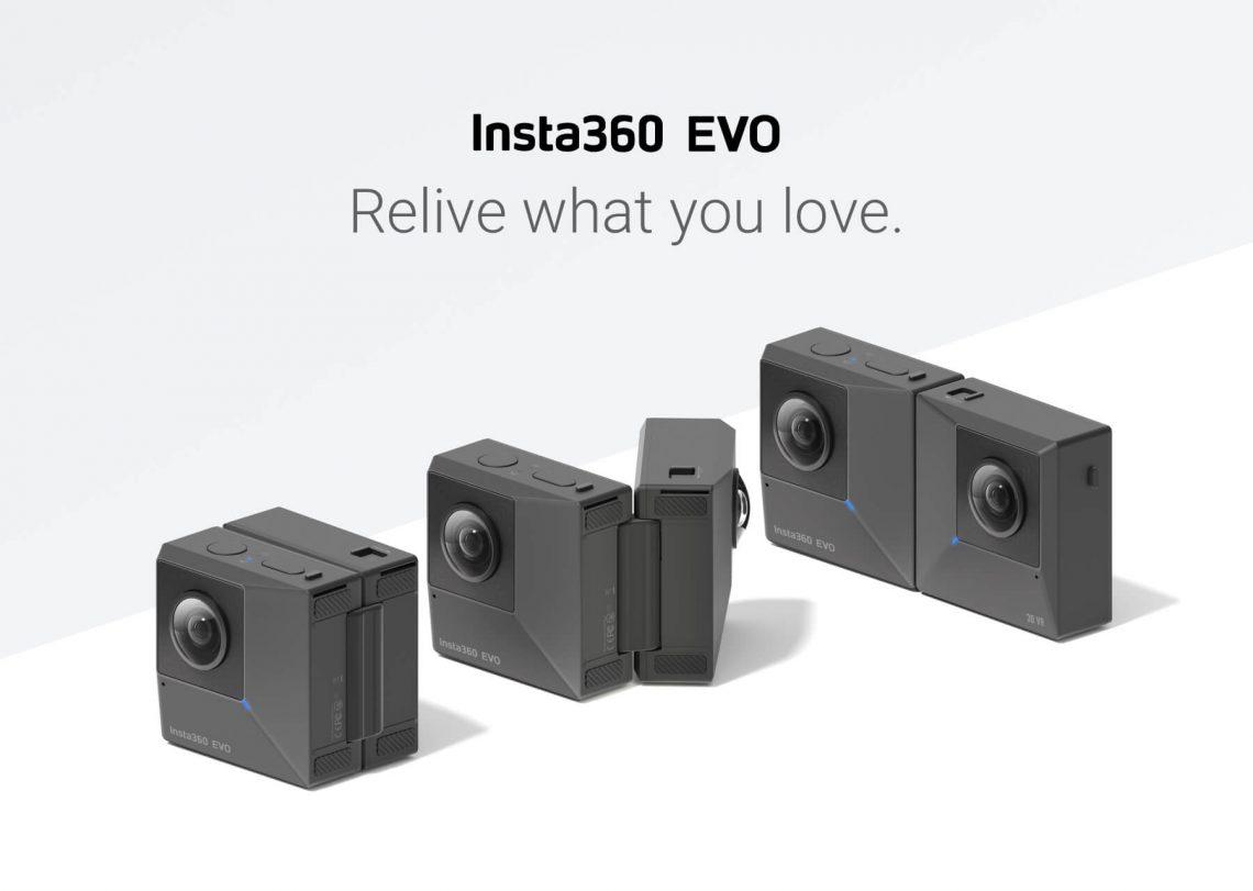 Insta360 EVO – 360° ou bien 3D ?
