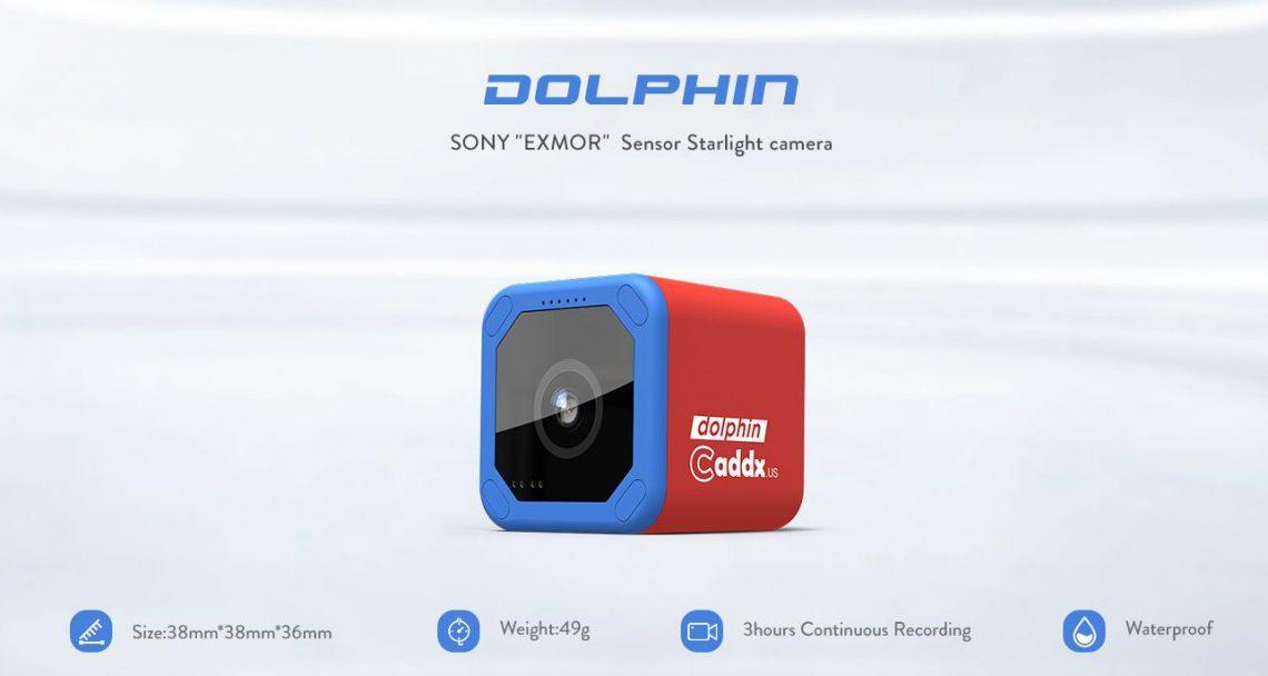 Caddx Dolphin – Une concurrente de la Runcam 5 ?