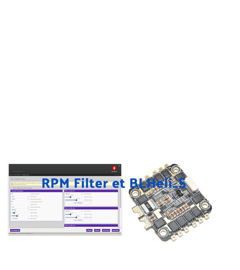 RPM Filter sous BLHeli_S – Tuto