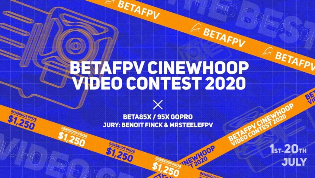 Concours de vidéos BetaFPV, 500$ de cash prize