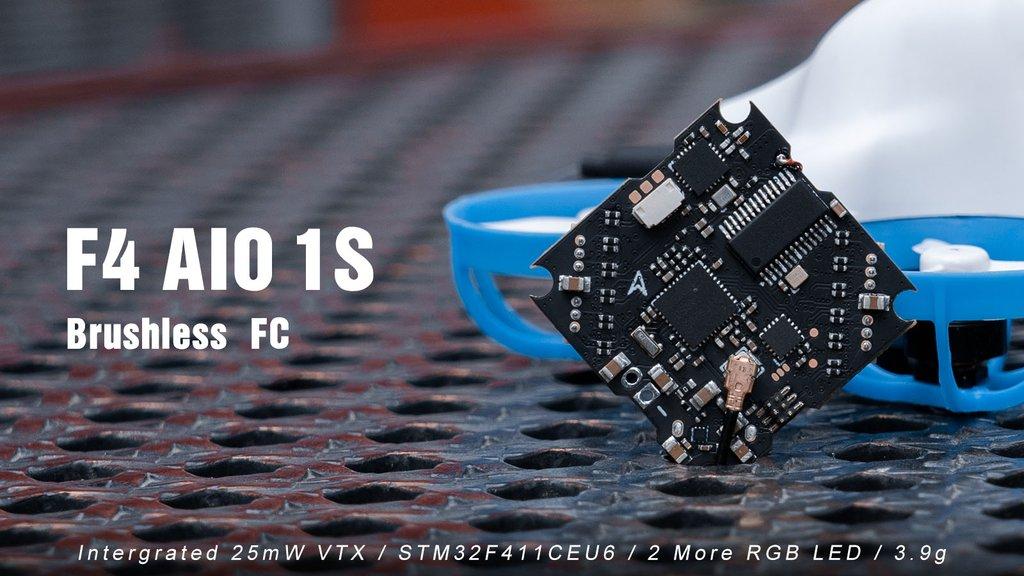 Nouvelle F4 1S AIO Betafpv, quelques nouveautés intéressantes